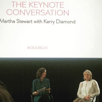 Cherry Bombe Jubilee Martha Stewart Talk
