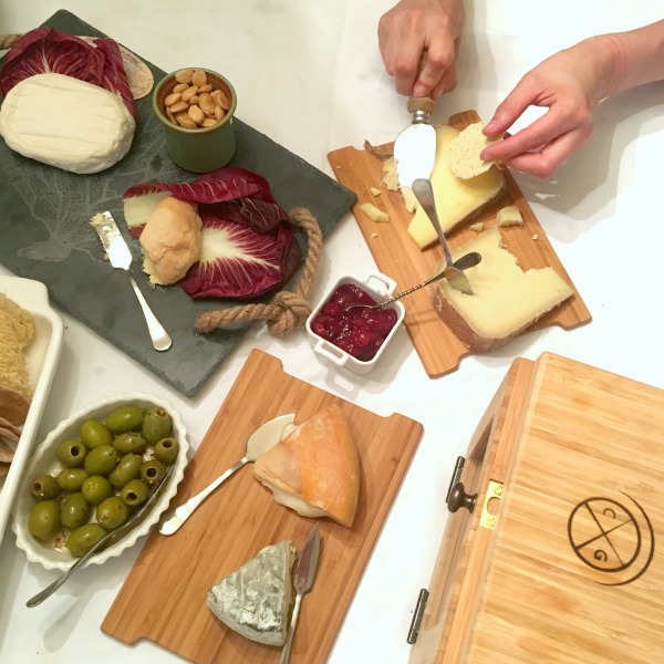 Chef Marcy Ragan Cheese Board
